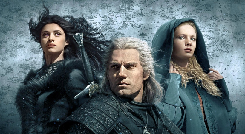 Netflix, The Witcher'ın afişini paylaştı!