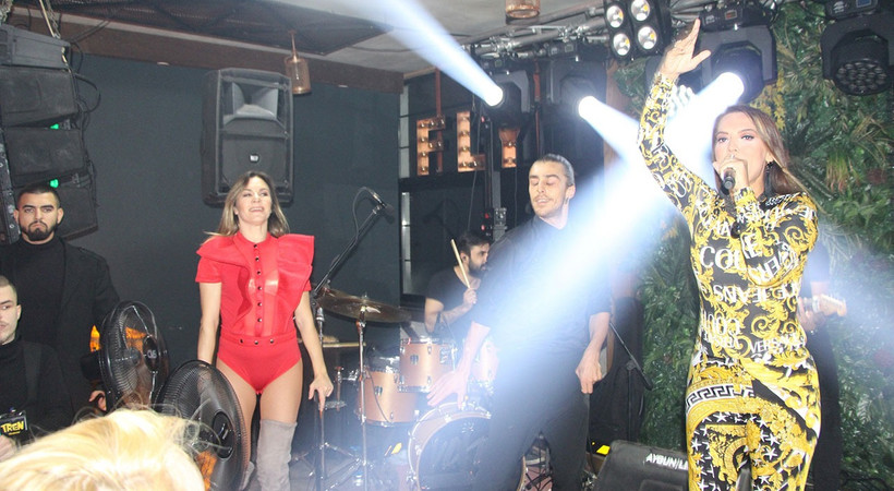 Demet Akalın Trabzon'da coşturdu
