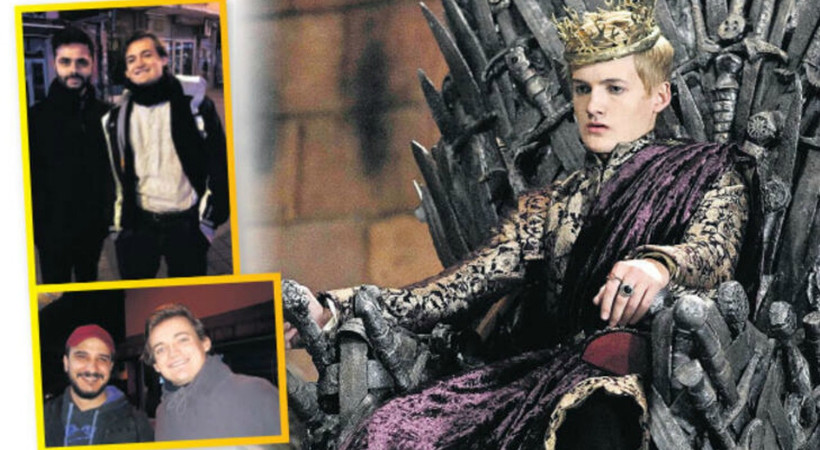 Game of Thrones oyuncusu İstanbul'da!
