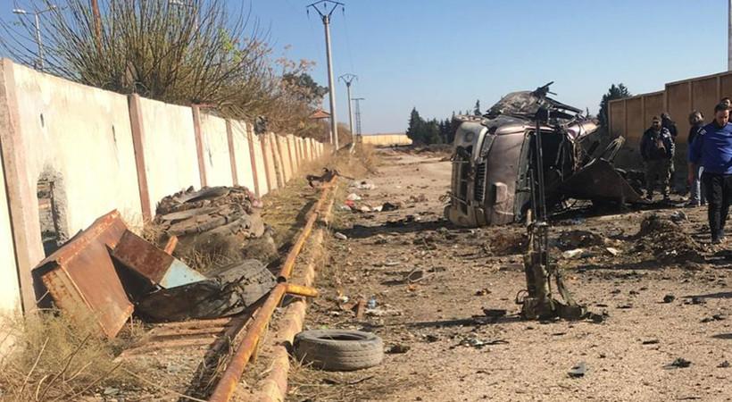 Tel Abyad'da hain saldırı