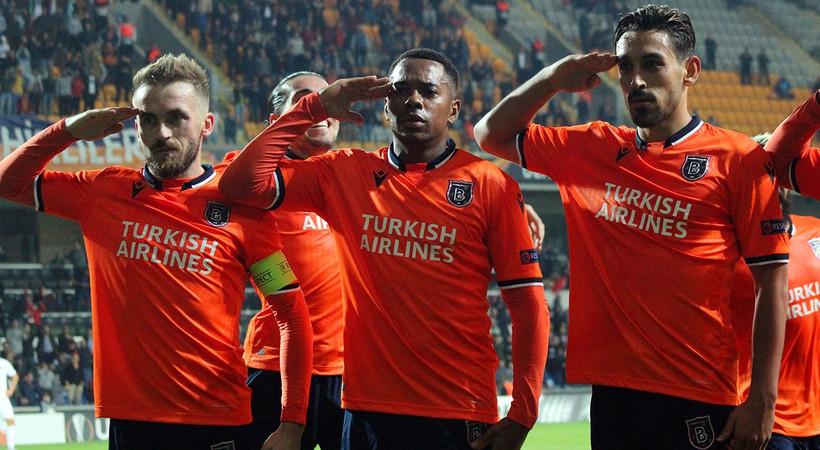 UEFA, Başakşehir'e asker selamı nedeniyle kınama cezası verdi