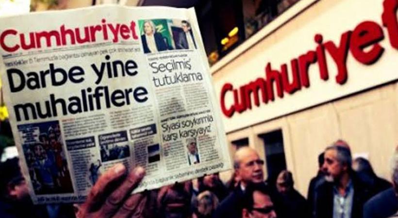 Cumhuriyet Gazetesi'nden açıklama: Baskılar bizi yıldıramaz