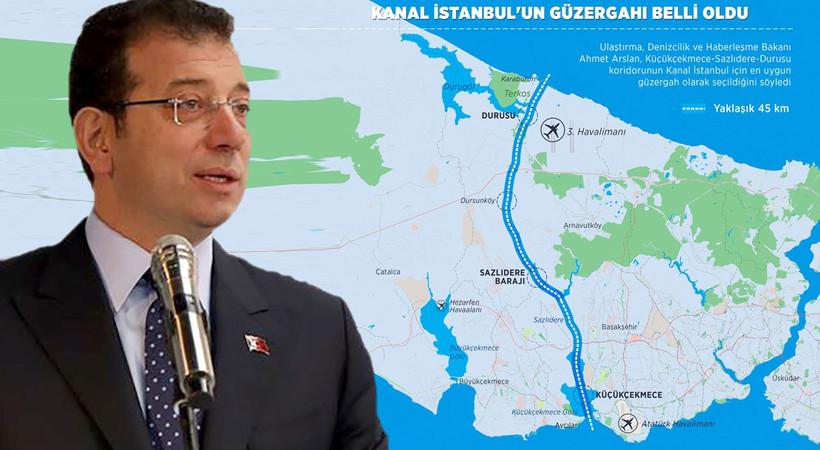 Ekrem İmamoğlu, Kanal İstanbul'un yaratacağı 15 tehdidi açıkladı