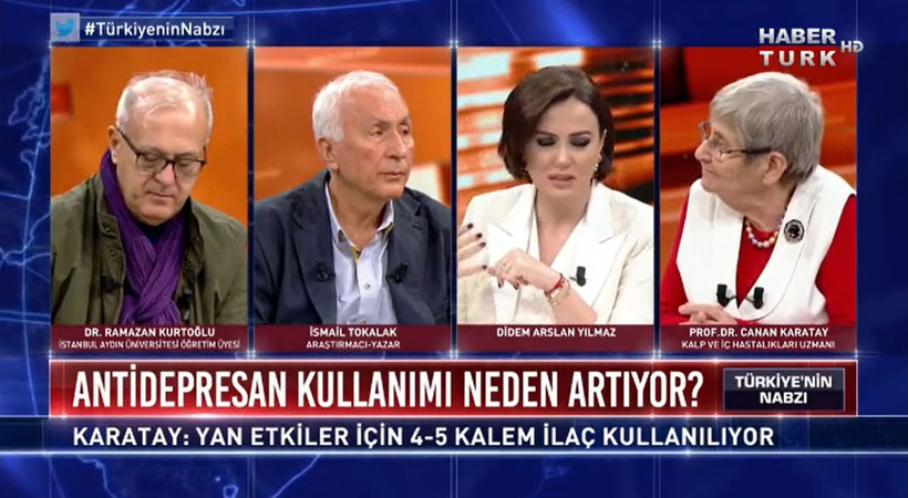 Türkiye Psikiyatri Derneği Habertürk'ü kınadı