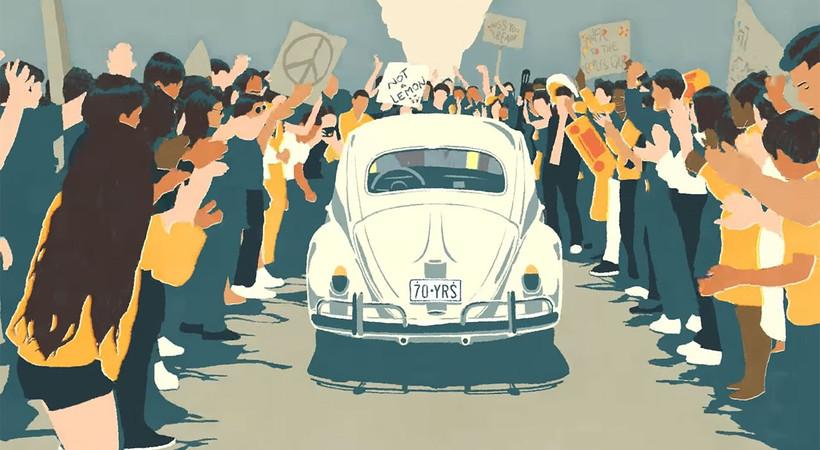 Volkswagen Türkiye'de Vosvos, Herbie ya da tosbağa olarak bilinen Beetle modelinin üretimini sonlandırdığını duyurdu
