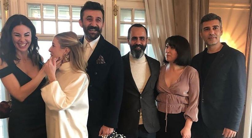 Çukur'un Cumali'si Necip Memili Didem Dayıcıoğlu ile evlendi