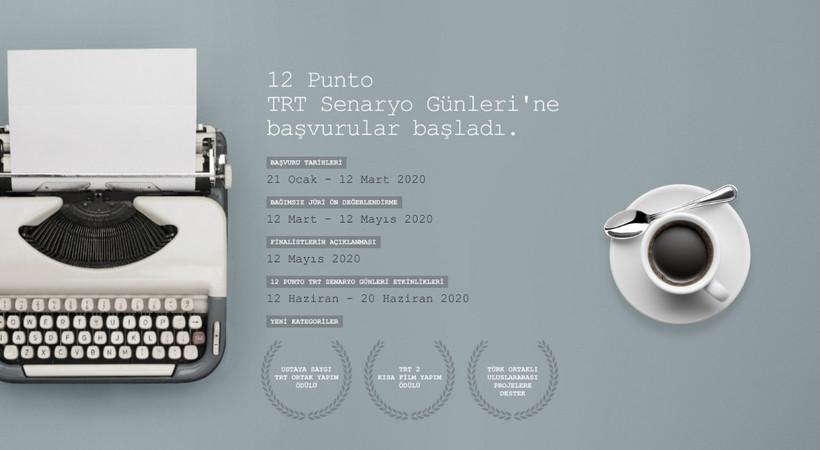 12 Punto TRT Senaryo Günleri başvuruları başlıyor!