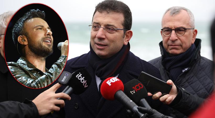 İBB Başkanı Ekrem İmamoğlu'ndan Tarkan'ın imar isteğine dair açıklama