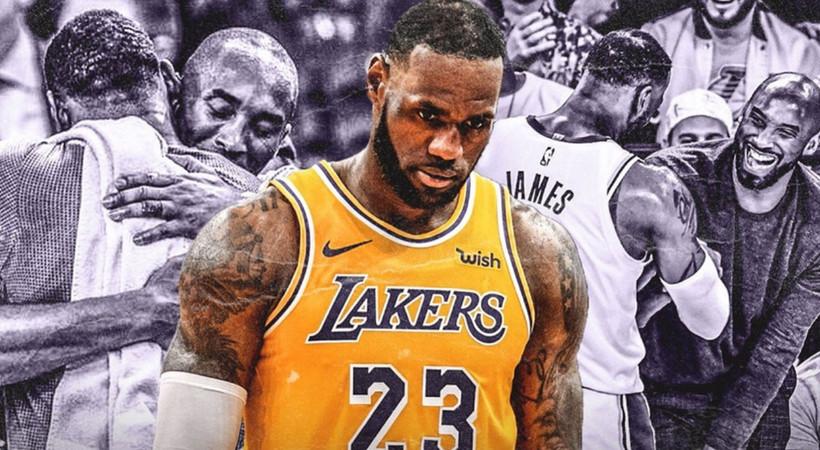 LeBron James'ten Kobe Bryant'a ağlatan mektup: Tekrar buluşacağız kardeşim!