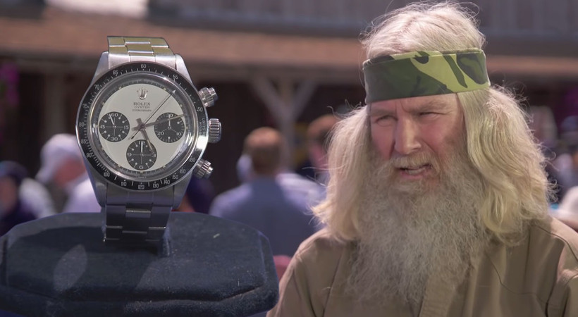 Taşıdığı saat servet değerinde çıktı