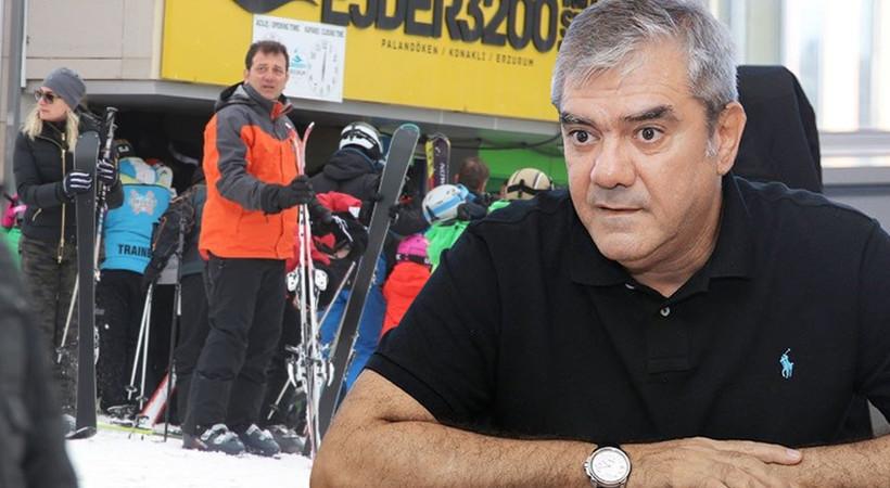 Ekrem İmamoğlu'nun 'kayak tatili' Yılmaz Özdil'i de kızdırdı: Hakikaten yakışmadı!