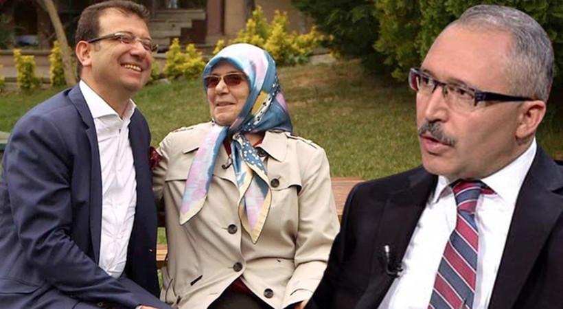 Abdulkadir Selvi'den Yeni Şafak yazarına tepki: İmamoğlu'nun annesinin ellerinden öpüyorum!