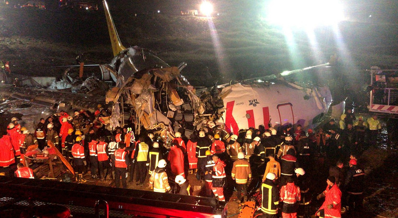 Sabiha Gökçen'deki kazada yaralanan pilotların durumu ağır