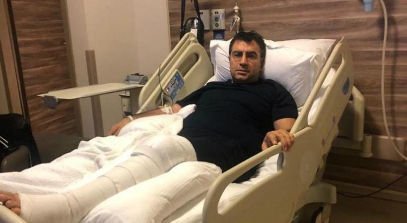 Ahmet Güneştekin ameliyat oldu!