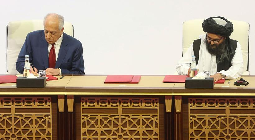 ABD, Afganistan ve Taliban arasında tarihi anlaşma