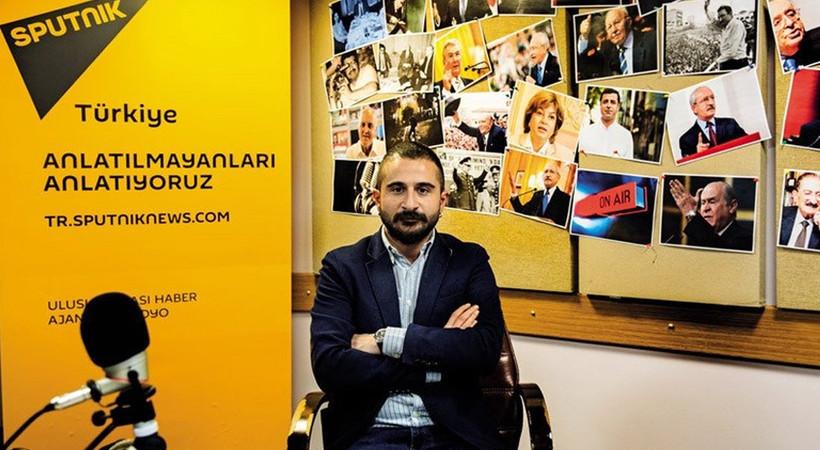Sputnik Türkiye Genel Yayın Yönetmeni: Hatay haberi bize ait değil, katılmıyoruz