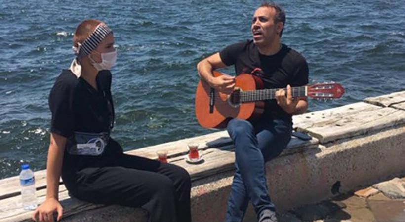 'Sahte kanser hastası' Haluk Levent'i üzdü