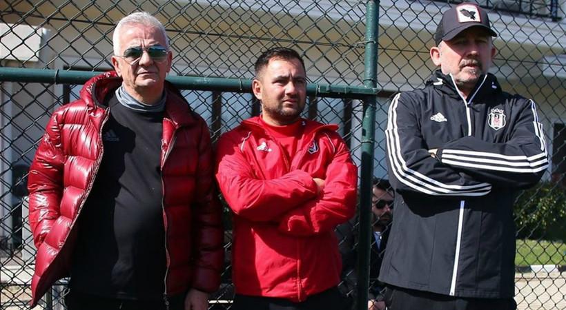 Sergen Yalçın'a rakip... Beşiktaş antrenmanında sürpriz isim!