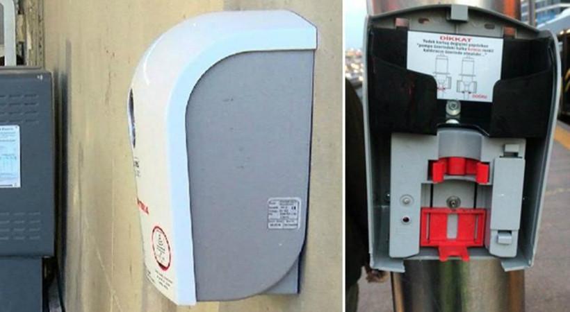 İstanbul'da Coronavirus'e karşı yerleştirilen dezenfektan cihazları kırıldı!