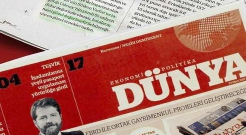 Dünya gazetesi, coronavirüse karşı bugün böyle!