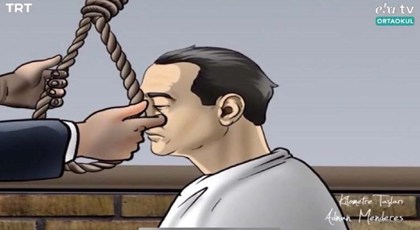 EBA TV'deki idam görüntülerine açıklama