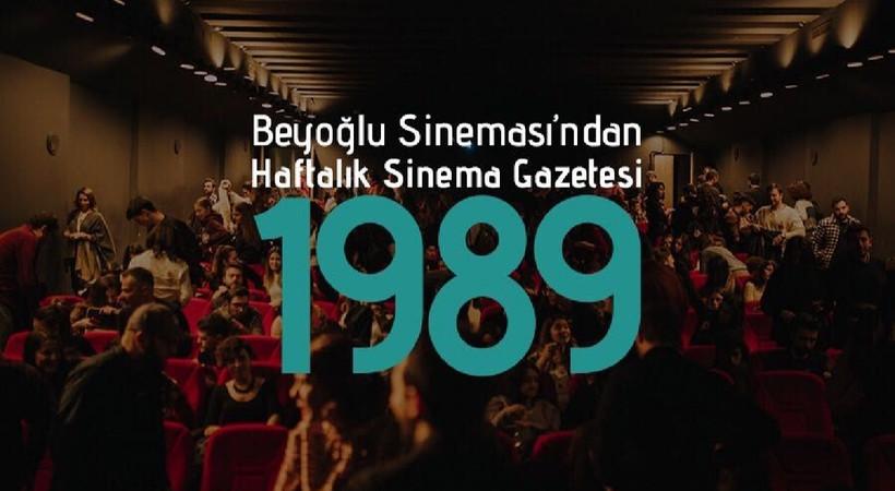 Haftalık sinema gazetesi 1989'un ilk sayısı yayınlandı!