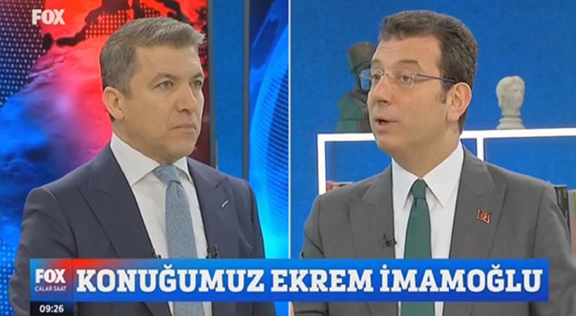 Ekrem İmamoğlu'ndan canlı yayında trollere tepki!