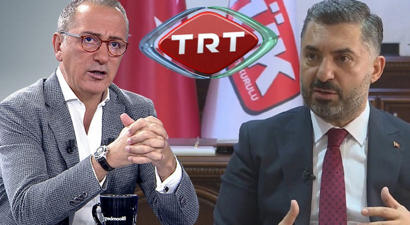 Fatih Altaylı'dan RTÜK Başkanı'na tepki! 'Bize ceza kestiniz TRT'ye de ceza verin'