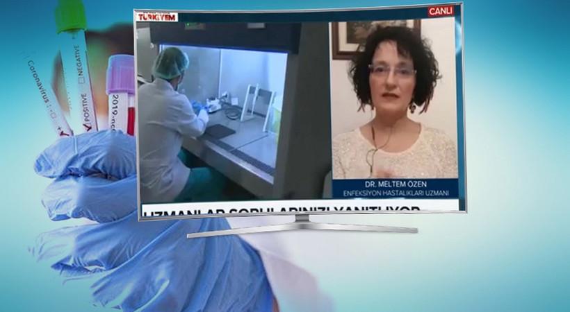 TRT Haber canlı yayınında korkutan sözler: 'Türkiye'nin vaka sayısı 600 ila 900 bin arasında'