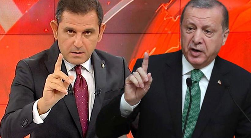 Cumhurbaşkanı Erdoğan'dan Fatih Portakal hakkında suç duyurusu: 'Halkı manipüle etmeye yönelik ifadeler'