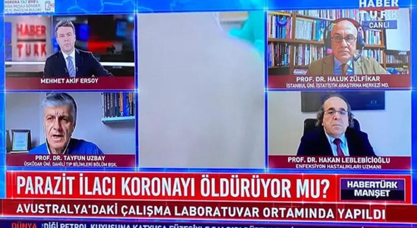 FETÖ'den tutuklanan profesör ekrana çıktı