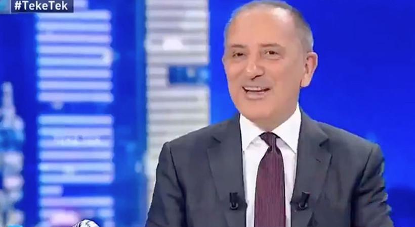 Fatih Altaylı kendi kanalı Habertürk'ü tiye aldı: 'Uyuyanlar gaz çıkaranlar...'