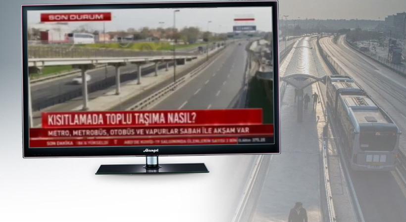 Kamera kayıtları ortaya çıktı... İBB'den Habertürk'e videolu yanıt!