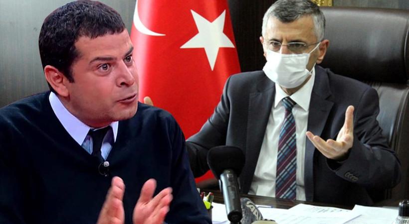 Cüneyt Özdemir'den Zonguldak Valisi'ne sert tepki!