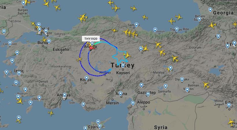 THY Türkiye üzerinde ay yıldız çizdi