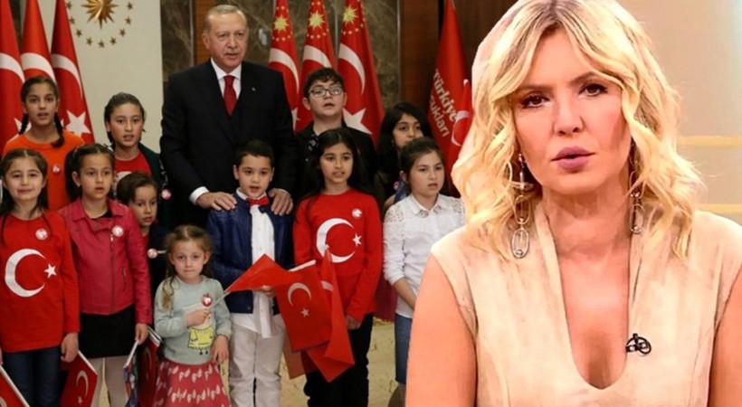 Erdoğan'ın çocuklarla buluşmasına sitem etti!