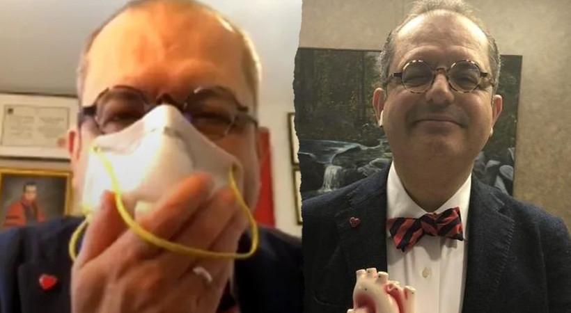 Mehmet Çilingiroğlu: Maskeni tak maskeyle seviş!