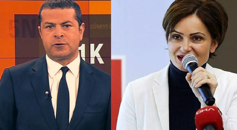 Cüneyt Özdemir, Canan Kaftancıoğlu'nu hedef aldı!