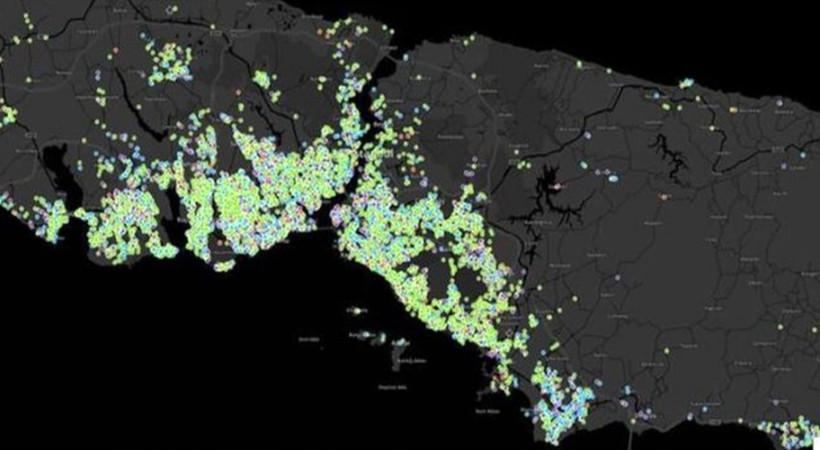 İstanbul'un en güncel Coronavirus haritası: 10 ilçe 49 mahallede yüksek risk var