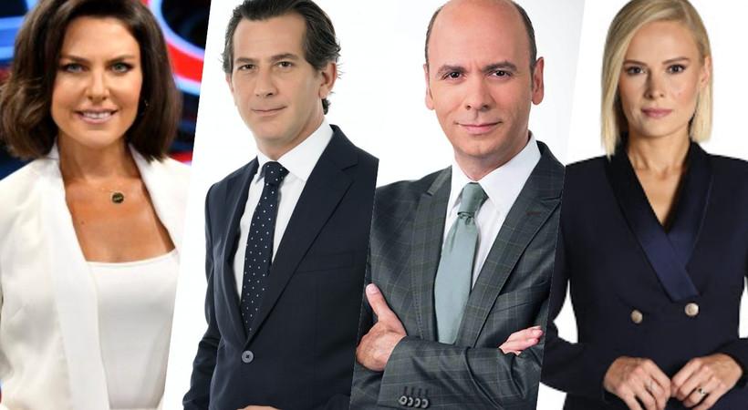 4 kanalın Ana Haber Bülteni 'çiftlere' emanet!