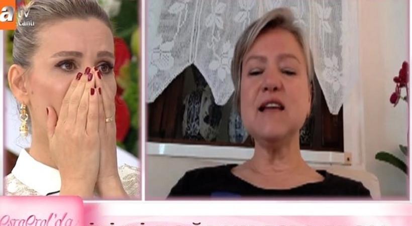 Esra Erol'u canlı yayında ağlatan sürpriz