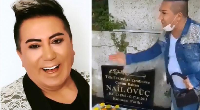 Murat Övüç'ten tepki çeken bir mezar videosu daha!