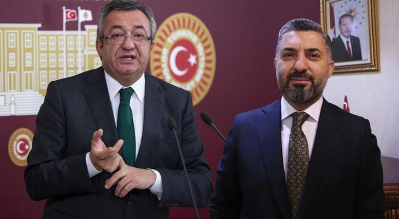 RTÜK Başkanı Şahin'den CHP'li Engin Altay'a sert sözler!