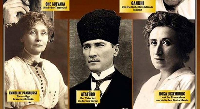 Atatürk, Alman derginin tam merkezinde!...