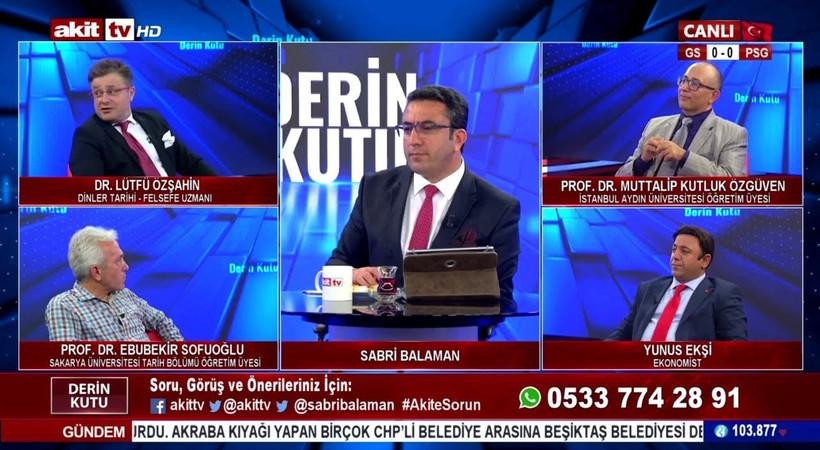 Akit TV'deki sözleri tepki çekmişti...