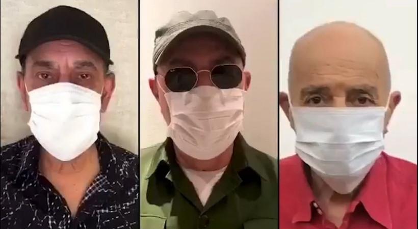 MFÖ'den 'Maske' şarkısı... Kanser tedavisi gören Özkan Uğur da kamera karşısında!