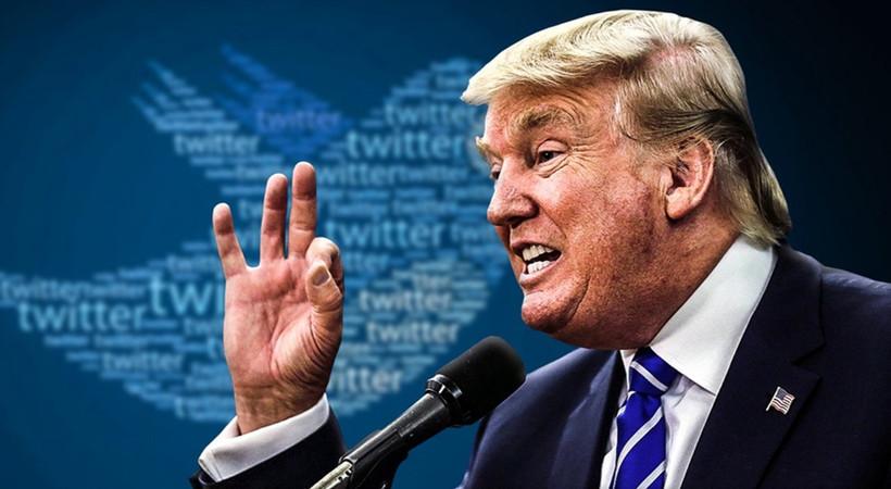 Twitter'ın 'teyit' uyarısı Trump'ı çıldırttı! Resmen savaş açtı!