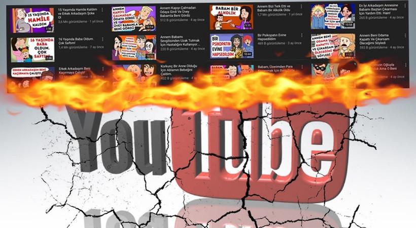 YouTube kanalında inanılmaz çocuk istismarı! Bakanlık harekete geçti...