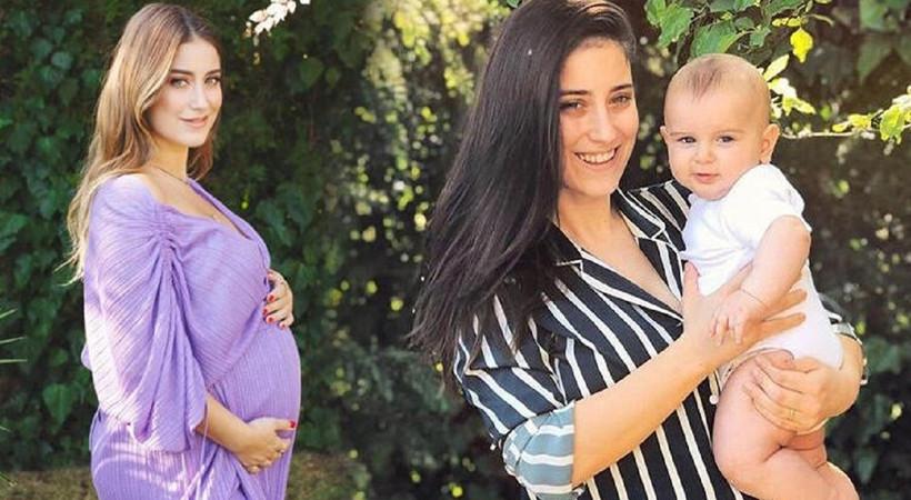 Hazal Kaya'dan oğluyla yeni paylaşım