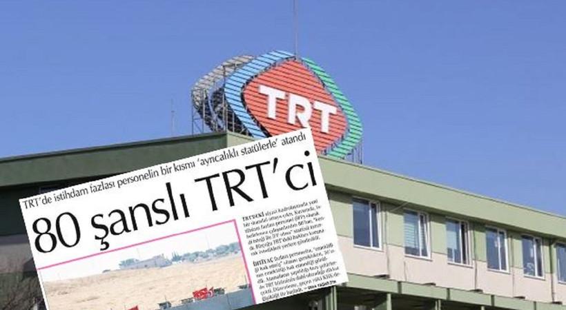 TRT'den tasfiye edilen 7 kişi hakkında yeni karar